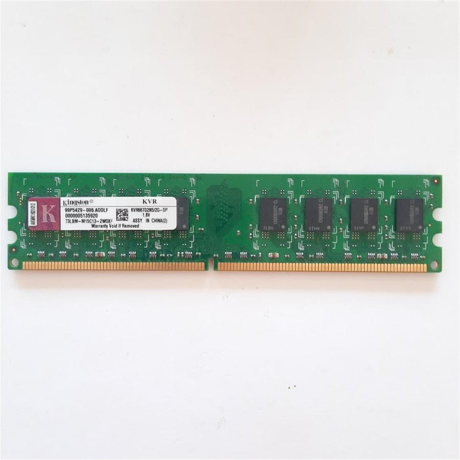 Kingston 2 GB-DDR2-667Mhz Model-KVR667D2N5/2G Masaüstü Ram Bellek