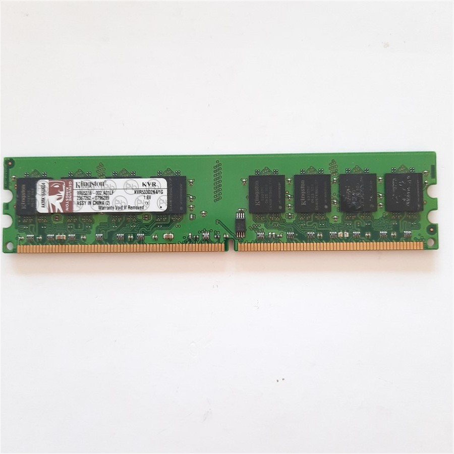 Kingston 1 GB-DDR2-533 Mhz Model-KVR533D2N4/1G Masaüstü Ram Bellek